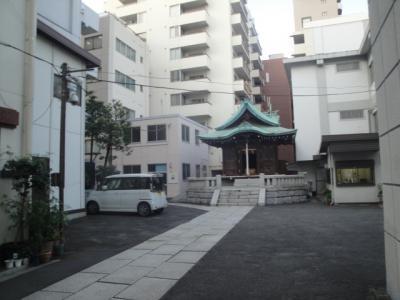 大田区大森北にある「おおとり神社」