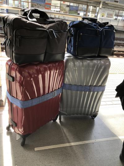 10月11日(木)1日目。<br />今日のフライトは14時に羽田からなので余裕の出発です。<br />前回はロストバケージで散々だったので、数日分の荷物を機内持ち込みにしました。<br />スーツケースを預けてからフランクフルトでスーツケースを受け取るまで、ずっしりと重たいバックを持つことになるのです。フランクフルトの空港内での移動はかなりの距離があり大変でした。このスタイルは失敗だとフランクフルトで気づきました。