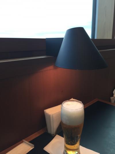 朝からビールの贅沢感(*^▽^*)