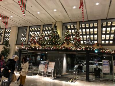 早朝便なので、成田日航ホテルで前泊です。<br />外国の方が沢山泊まっていて1日早く旅が始まったみたいでワクワクです。