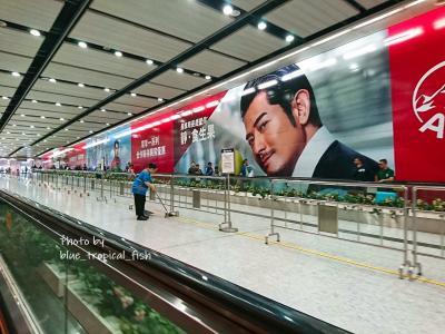 MTRで香港駅へ。乗り換えて、銅鑼灣へ。<br /><br />乗り換えの時、アーロンがカッコよくて思わず撮影…笑