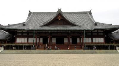 途中には天理教本部の立派な建物がありました。天理教は日本を中心に17000の教会があり、信者数は200万人を超えるといわれています。