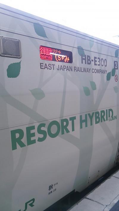 まずは秋田8時20分発快速リゾートしらかみ1号青森行きに乗り、岩館という駅まで乗車します。