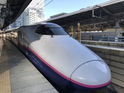 1/4、三が日終わって早々から新幹線で仙台へ~<br />今年はお正月休みが長くてこういったことができてよかったです。。