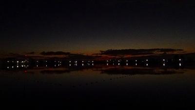 6時30分頃池畔に到着しました。