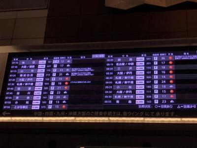 朝一の羽田空港。<br />テンション上げて行きましょう!