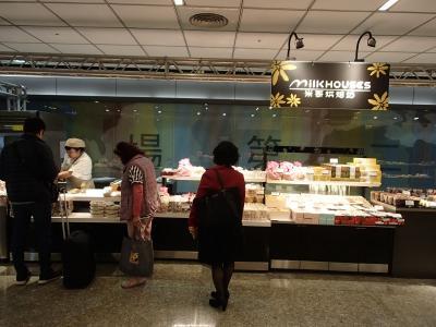 地下2階美食街が、工事中のため、屋台売りに・・・。