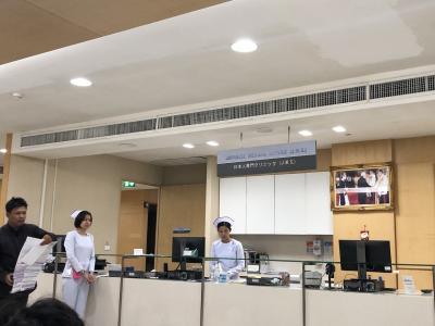 スワンナプーム空港着きましたが、<br /><br />バンコク病院に直行です。<br /><br /><br />損保ジャパンの海外旅行保険をかけておいて<br />本当によかった!<br /><br />キャッシュレスサービスが使えます。<br /><br />また、バンコク病院は日本語が通じます。<br />さすがです。