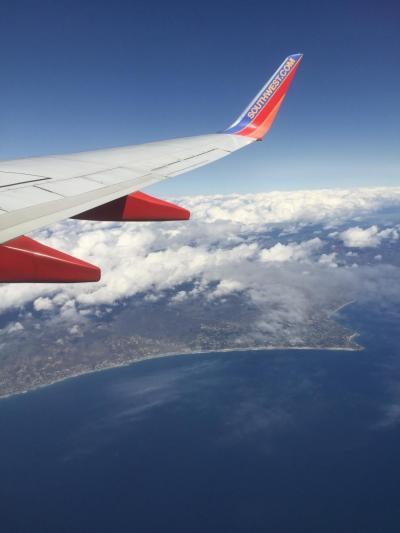 サウスウェスト航空でサンフランシスコへ。<br />そこからBARTで移動しました。