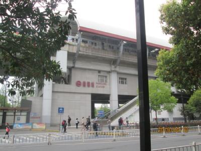 地下鉄11号線嘉定駅<br />