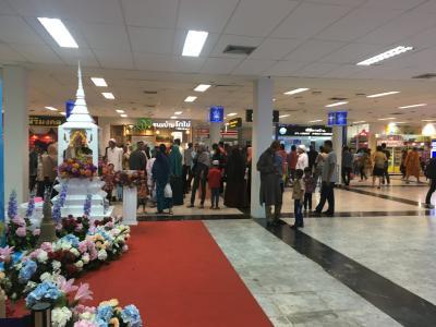 4月11日成田発エアアジア9:15~ドンムアン14:15着乗り換えハッジャイ(ハートヤイとも言う)18:00着<br /><br />タイは仏教徒の国ですが、ハッジャイに着いて<br />あっそうだった! この街はイスラム教の人が多いんだと思いだす。