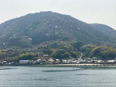 3/29<br />母の思い出の地、江田島市沖美町を目指して<br />広島港から三高港へ。<br />山桜が山の至る所を桃色で飾っています。