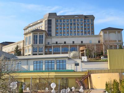 ホテル森の風鶯宿<br />ハウスメーカーの日本ハウス系列のホテルです