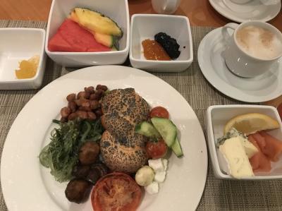 5日目♪<br />この日も6時30分からヒルトンの朝ごはん楽しめました。<br />焼きトマトとマッシュルーム美味しいです。