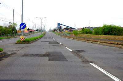 日本一の直線道路
