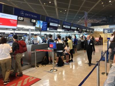 2019-8-9(金)<br />10:00頃<br />旅の始まりは成田空港T1<br />高速バスが2時間遅れで到着、昨年はマジでカウンター閉まってて焦ったが<br />これからはもお、新幹線と成田エクスプレスにしようかな