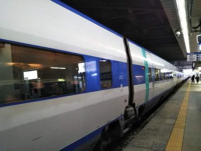 東大邱駅に到着