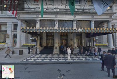 プラザホテルの正面です。<br />(google StreetViewより)