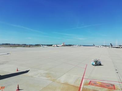 ポルトガル時間15:10<br />というわけで定刻通り、ポルトに到着。