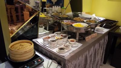 4日目の朝です。<br />ホテルで朝食をいただきます。