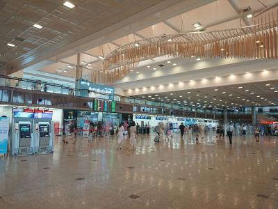 ということで、イキナリのハプニングがありつつも<br />金海国際空港へ着きました~!<br /><br />これから国内線へ移動します。<br />何度も釜山に足を運んで来ましたが、国内線へ行くのは初めて♪