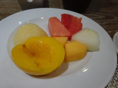 果物も美味しくいただきました。