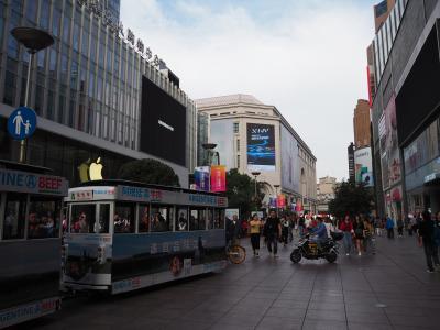 上海一の、ひょっとしたら中国一レベルの繁華街。