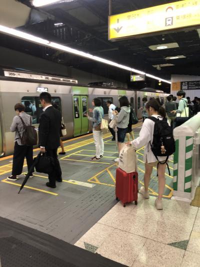10月11日金曜日の夜だけど人出は少ない、なぜなら『令和元年台風第19号』が日本に接近中だったから。<br />フライトキャンセルになったときのことを考えながら、仕事終わりに羽田空港に向いました。