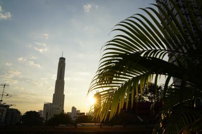 【3日目】<br />バンコクで迎える朝。