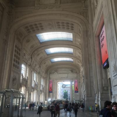 ミラノ中央駅の内部