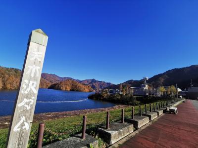 八木沢ダムから奈良俣ダムを通って、ゆけむり街道を尾瀬方向に進ます。