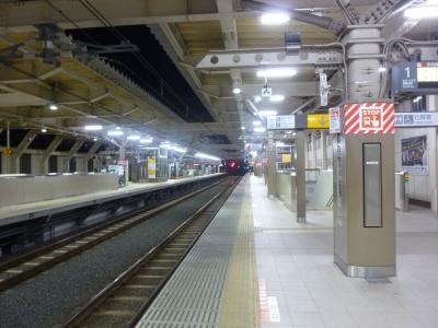 今回、名古屋までは中央線で行きました。しかし、そのためには最寄駅を朝4時代の列車で出なければいけないので、凍えながら自宅から30分歩き、駅に着きました。早速、高尾行に乗車。