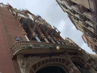 実質最終日の朝はランブラス通り、カタルーニャ音楽堂のおさらいから。