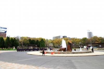 大阪城公園噴水広場