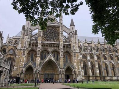 世界遺産ウエストミンスター大聖堂です。