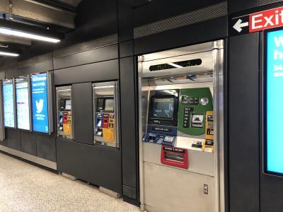 NY最終日です。<br />出発は夕方、昼過ぎまで自由時間だったので一人で行動しました。<br />Googleマップを頼りに、地下鉄で動いてみます。