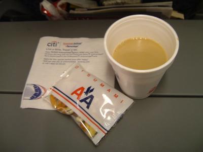 待ちに待ったベガス旅行♪<br /><br />今回はアメリカン航空。サンノゼ乗り継ぎです。<br />飛行機の乗り心地はまあまあ。アメリカン航空はアルコール類が有料だと聞いていたけど無料でした。<br /><br />今までいろんな航空会社の飛行機に乗ったけど、たいしてどこも変わらないです。機内食もあんまり変わらない。
