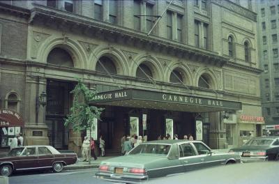 Carnegie Hall.
