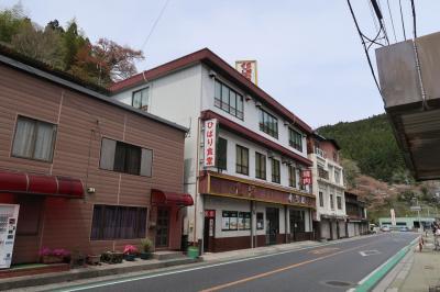 昼食は、高知県大豊町のひばり食堂のカツ丼に決定。<br /><br /> 石鎚SAから一気にひばり食堂へ。しかし、高知道を走る車もかなり台数が減っていました。