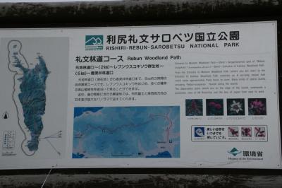 今日、歩くのは、初心者向けの礼文林道コース。目指すはレブンウスユキソウの群生地。<br />