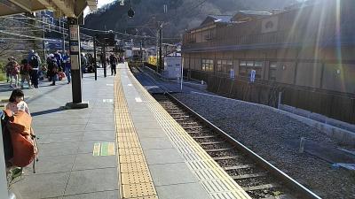 仕事終えて やれやれ<br />京王線とある駅