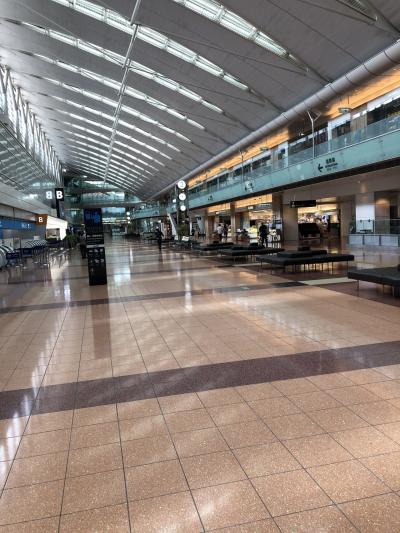 空港は空いています