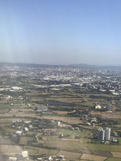台湾に来るの5年ぶりです。<br />台北が近づいてきました。