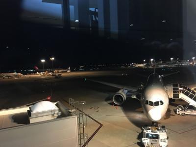 日本からケアンズへジェットスターの直行便で深夜に出発!<br />