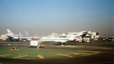 ロサンゼルス国際空港到着時の1ショット<br />https://flyteam.jp/photo/2590534