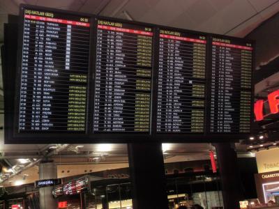 世界最大規模の就航都市数を誇るターキッシュエアラインズはフィレンツェ空港行きがない。<br />ご近所のピサやボローニャ行きはあるが、時間帯がよろしくない。