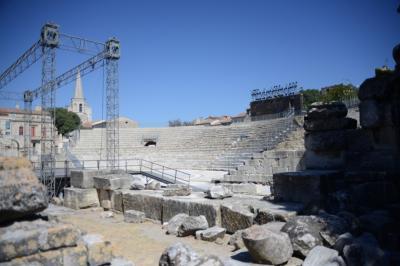 まず向かったのは古代劇場。