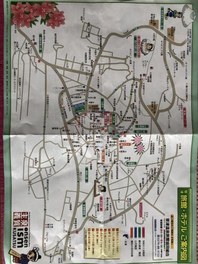 草津温泉町マップ
