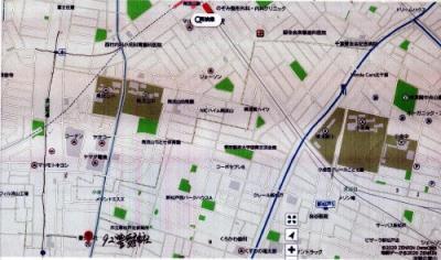 流山街道県道5号線、木交差点より南へ、流山と松戸の境目です。