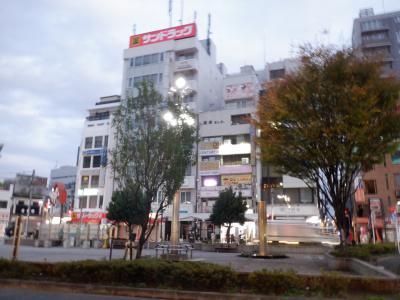 高円寺駅北口の風景です。